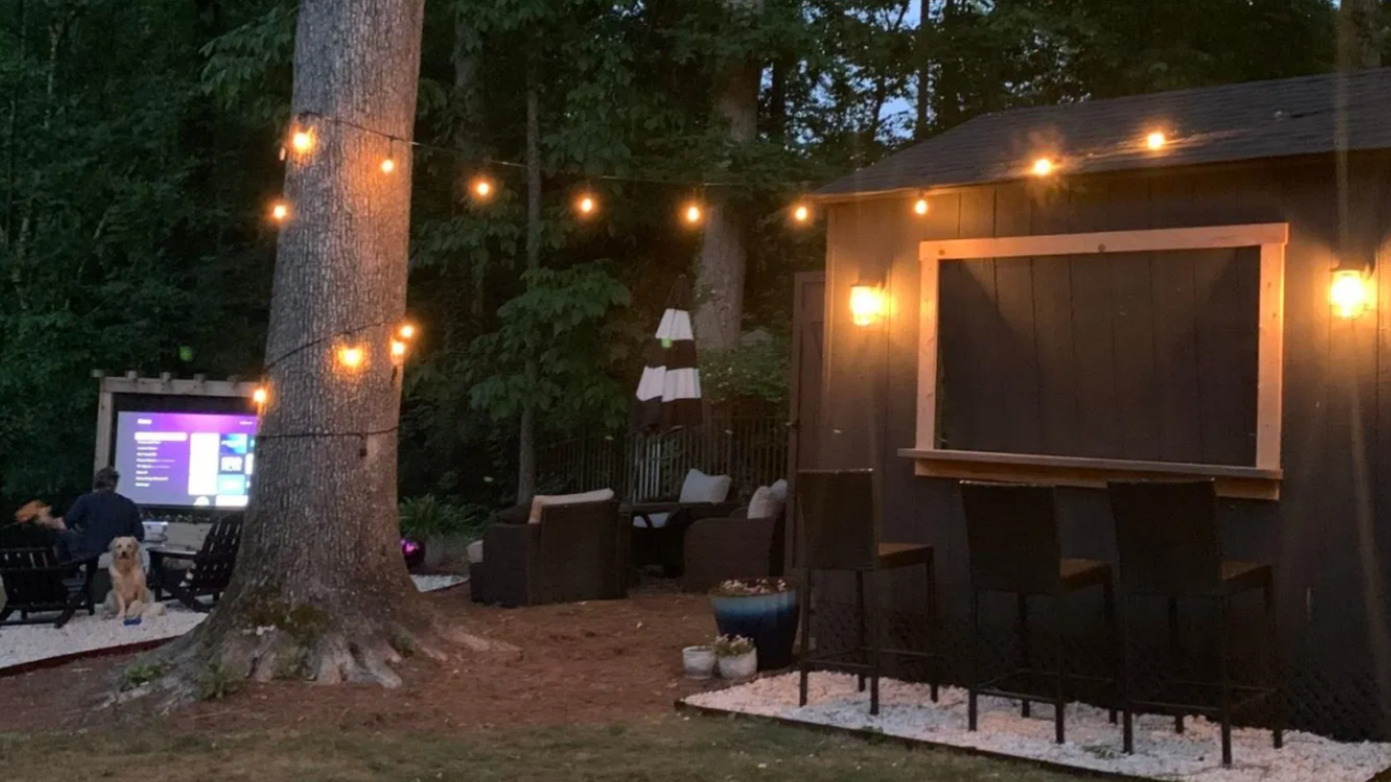 How to Make A Backyard Theater
