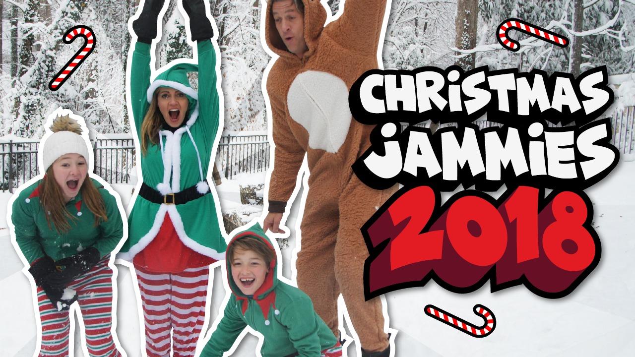 2018 Christmas Jammies