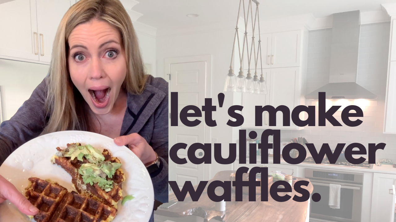 Cauliflower Waffles | Quarantine Kitchen